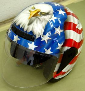Helmet Custom Paint 37