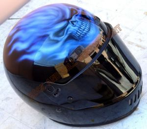 Helmet Custom Paint 4
