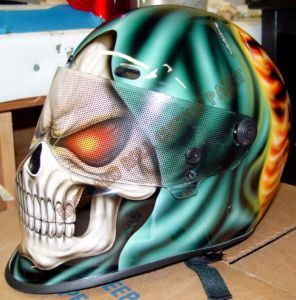 Helmet Custom Paint 43