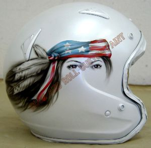 Helmet Custom Paint 46