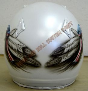 Helmet Custom Paint 47