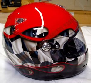 Helmet Custom Paint 55