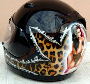 Helmet Custom Paint 57