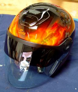 Helmet Custom Paint 68