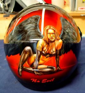 Helmet Custom Paint 69