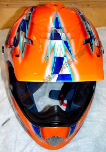 Helmet Custom Paint 77