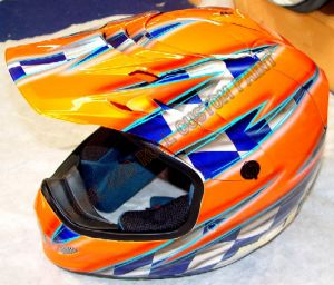 Helmet Custom Paint 79