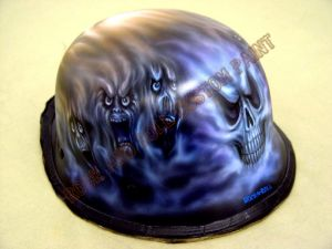 Helmet Custom Paint 8