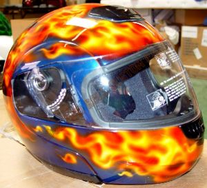 Helmet Custom Paint 90