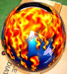 Helmet Custom Paint 91