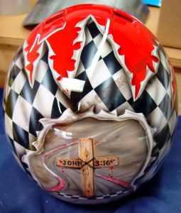 Helmet Custom Paint 94