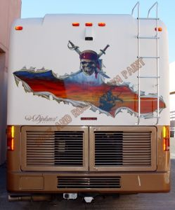 RV And Trailer Custom Paint 1353