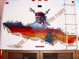 RV And Trailer Custom Paint 1354