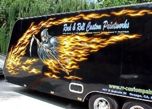 RV And Trailer Custom Paint 1380