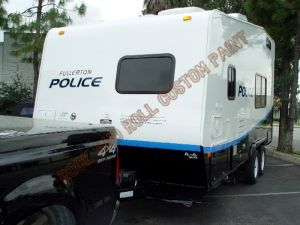 RV And Trailer Custom Paint 1405