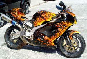 Sport Bikes Custom Paint 1619