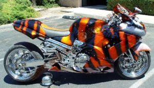 Sport Bikes Custom Paint 1623