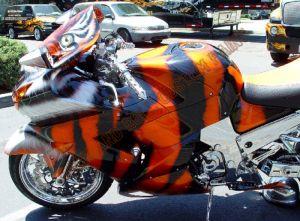 Sport Bikes Custom Paint 1631