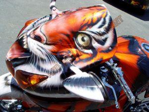 Sport Bikes Custom Paint 1632