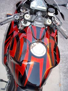 Sport Bikes Custom Paint 1636