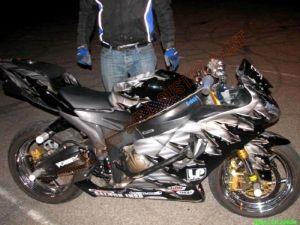 Sport Bikes Custom Paint 1688