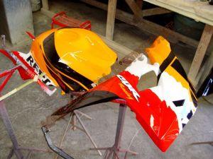 Sport Bikes Custom Paint 1698