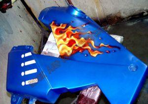 Sport Bikes Custom Paint 1707