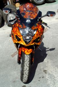 Sport Bikes Custom Paint 1709