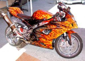 Sport Bikes Custom Paint 1715