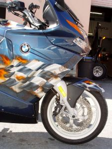 Sport Bikes Custom Paint 1721