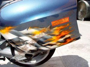 Sport Bikes Custom Paint 1724