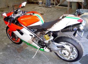 Sport Bikes Custom Paint 1736
