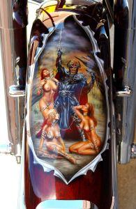 Theme Bikes Custom Paint 1898
