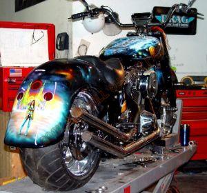 Theme Bikes Custom Paint 1911