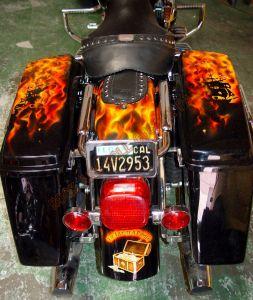 Theme Bikes Custom Paint 1929