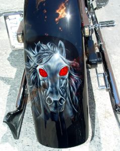 Theme Bikes Custom Paint 1936