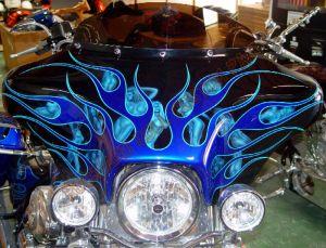 Theme Bikes Custom Paint 1953