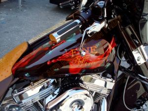 Theme Bikes Custom Paint 1978