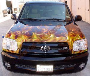 Truck Custom Paint 2046