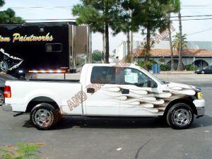 Truck Custom Paint 2100