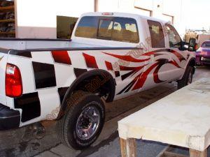 Truck Custom Paint 2113