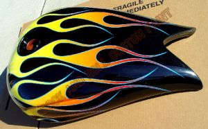 Victory Motorcycles Custom Paint 2132