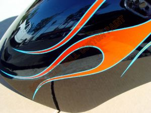 Victory Motorcycles Custom Paint 2137