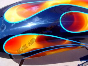 Victory Motorcycles Custom Paint 2184