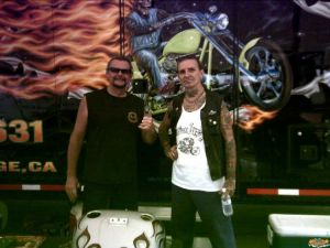 Randy and Indian Larry