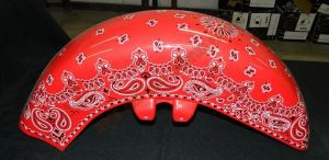 Bandana Set Custom Paint 2245