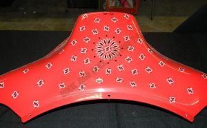 Bandana Set Custom Paint 2250