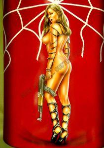 Biker Babes Custom Paint 326