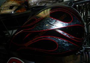 Flames Custom Paint 2274