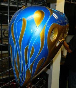 Flames Custom Paint 2275